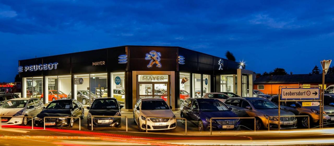 Liebe Kunden! Wir sind in der Werkstätte für Sie da. Der Fahrzeugverkauf ist von MO-FR von 9-12 und 13h30 bis 15 h 30 unter 0664/358 4231 und eduard.hajek@peugeot-mayer.at oder office@peugeot-mayer.at erreichbar.